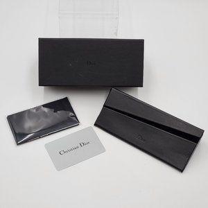 Christian Dior Black Eye / Sun Glasses Case Set